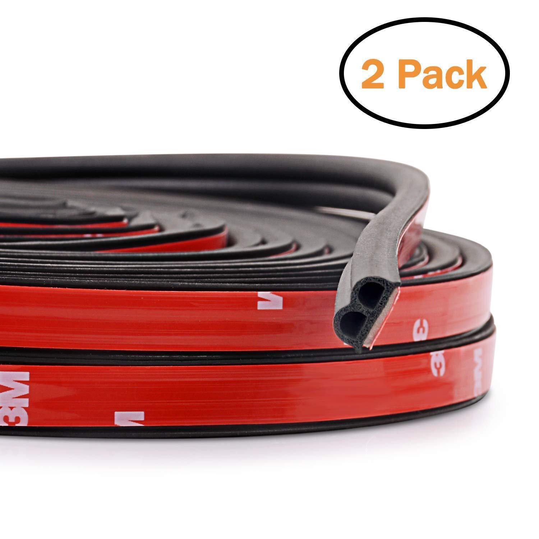 Car Parts -  10M B-Shape Type Trim Rubber Strip Universal Car Door Edge Seal Weather-strip
