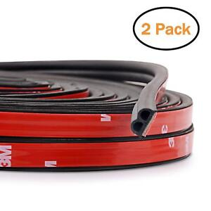 10M B-Shape Type Trim Rubber Strip Universal Car Door Edge Seal Weather-strip