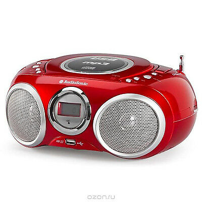 AudioSonic CD570 Stereoradio MP3 Player Kinder CDPlayer Recorder Radio Tuner USB