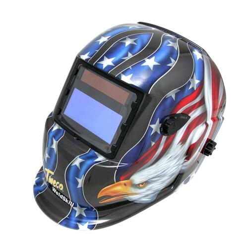 NEW TWECO 41001002 Stars & Stripes USA Flag Bald Eagle Welding Helmet