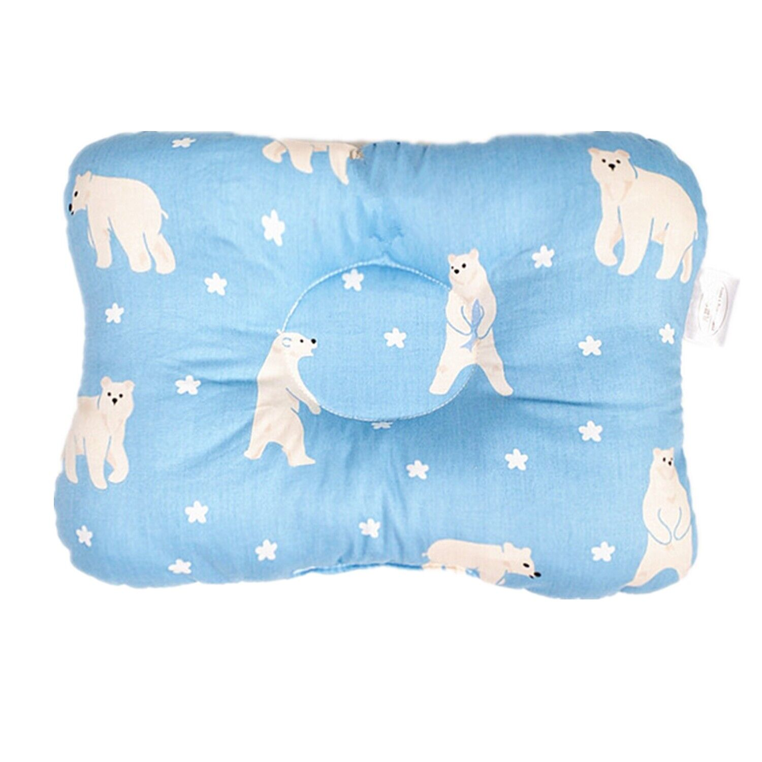Baby Infant Newborn Pillow Flat Head Sleeping Support Prevent Soft Breathable #5