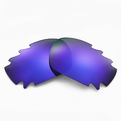 New Walleva Polarized Purple Vented Lenses For Oakley Jawbone