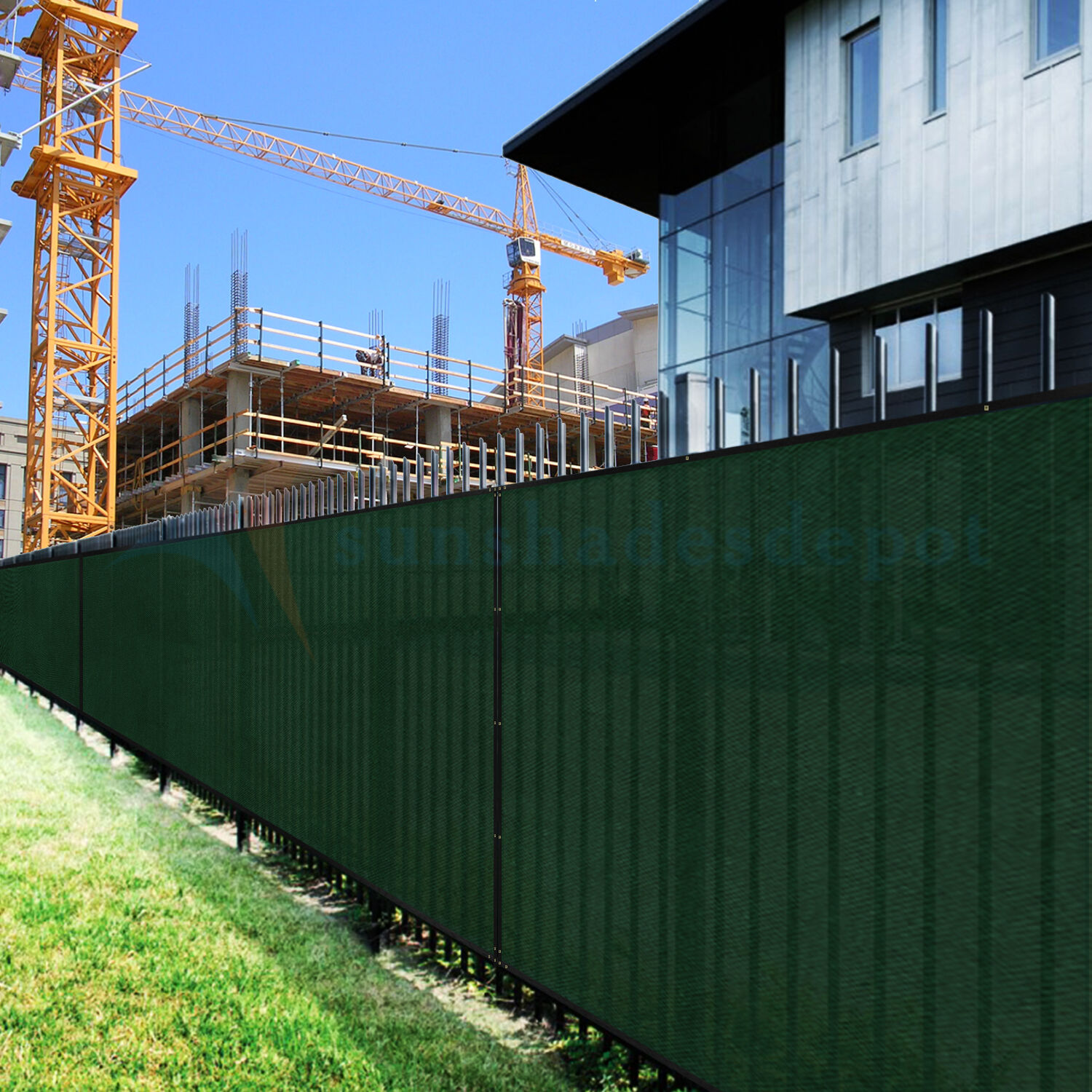 Commercial Windscreen Fence Privacy Screen Shade Cover