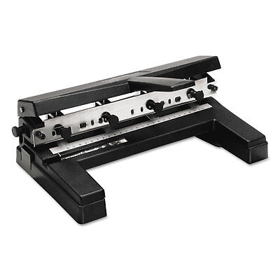 Swingline 40-sheet Two-to-four-hole Adjustable Punch 932 Holes Black 74450