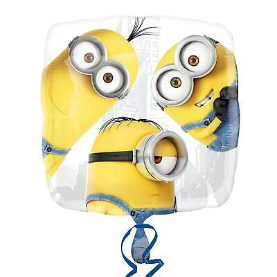 Minions Birthday Decorations (Despicable Me Minions Stuart Birthday Party Decorations Mylar Foil Balloon)