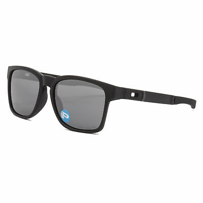 Oakley Catalyst POLARIZED Sunglasses OO9272-09 Matte Black W/ Black Iridium (Oakley Oo Black Iridium Polarized)