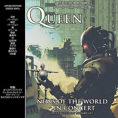 QUEEN - News of the World Live in Concert Houston 1977 - Limited Green Vinyl LP