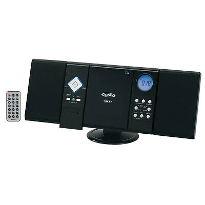 JENSEN HOME STEREO RECEIVER CD PLAYER SYSTEM w/ REMOTE CONTROL WALL -
