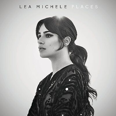 Places   Lea Michele  Singer Actress   Cd  2017  Columbia  Usa     Free Shipping