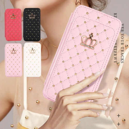 For IPhone 12 Pro Max 11 XS XR 8 7 Luxury Leather Folio Stand Wallet Case Cover - $8.99