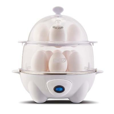 Dash DEC012WH Deluxe Rapid Egg Cooker: Electric, 12 Capacity