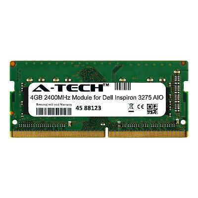 A-Tech 4GB 2400MHz DDR4 RAM for Dell Inspiron 3275 AIO All-in-One Memory Upgrade ()