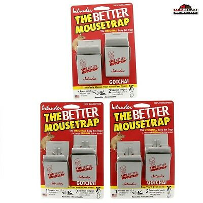6 Intruder The Better Mouse Trap ~ Never Touch Design ~