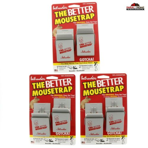 6 Intruder The Better Mouse Trap ~ Never Touch Design ~ New