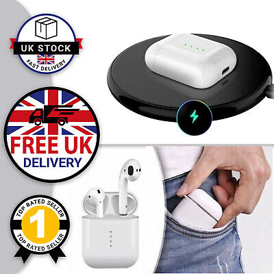 i10 TWS Wireless Charging Bluetooth Air Earbuds & Fast Charging Pad Samsung UK