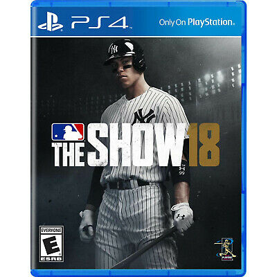 MLB The Show 18 PS4 [Factory Refurbished] Mlb The Show