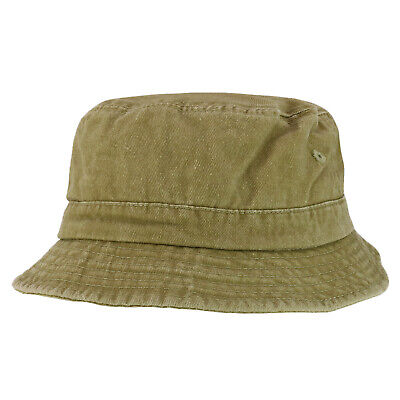 Youth Size Kid's Cotton Washed Bucket Hat - FREE SHIPPING