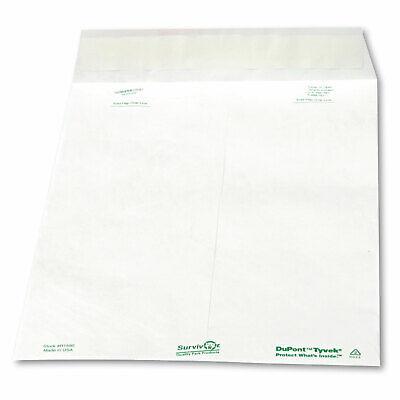 Survivor Tyvek Mailer 10 X 13 White 100box R1580