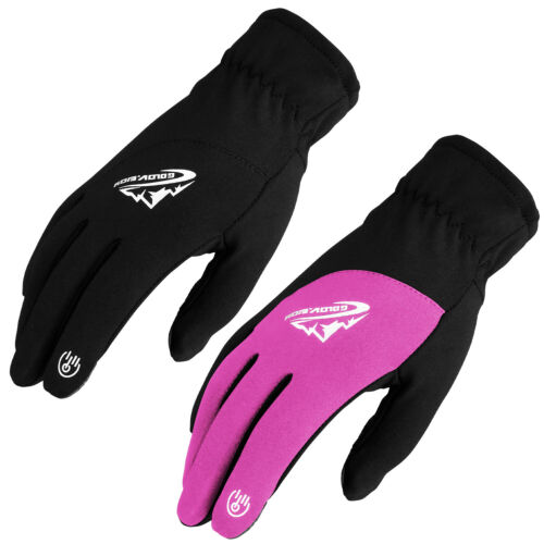 Waterproof Touch Screen Spring Thermal Windproof Mittens Gloves For Men Women