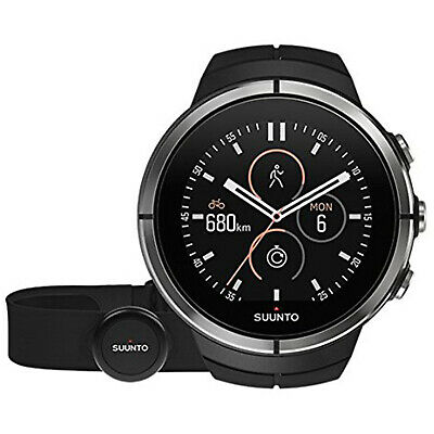 Suunto Spartan Ultra Outdoor GPS Watch with HR Monitor SS022658000 - Black