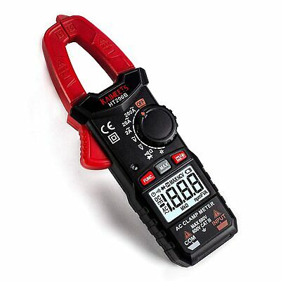 Digital Clamp Meter 200a Multimeter Auto-ranging Catiii 600v Volt Amp Meter With