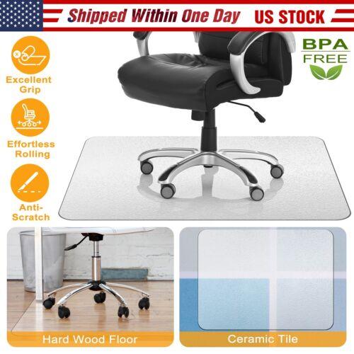computer desk chair mat pvc protector