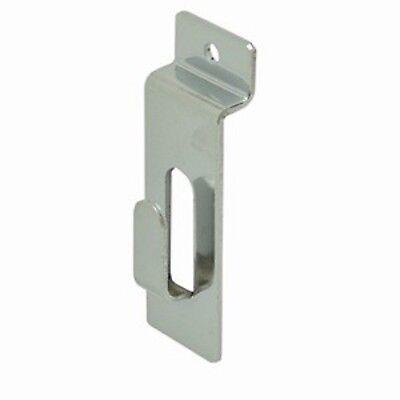 Only Hangers Chrome Slatwall Picture Hooks - 50 Pcs