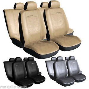 alcantara suede car seat covers for opel omega astra ii frontera ascona vectra ebay. Black Bedroom Furniture Sets. Home Design Ideas