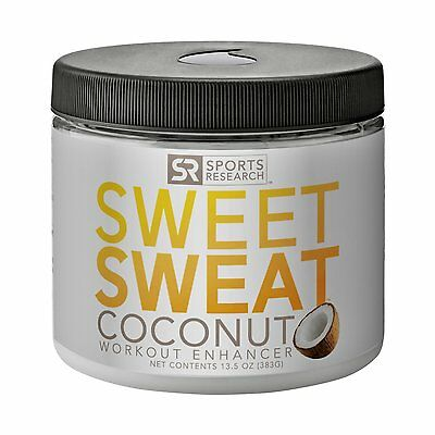 Sweet Sweat Coconut 'Workout Enhancer' Gel with Extra Virgin Organic Coconut Oil