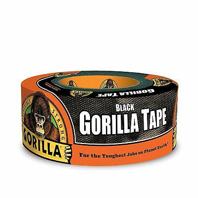 Gorilla Tape Black Duct Heavy Duty Adhesive Stronger Double Thick Indoor Outdoor
