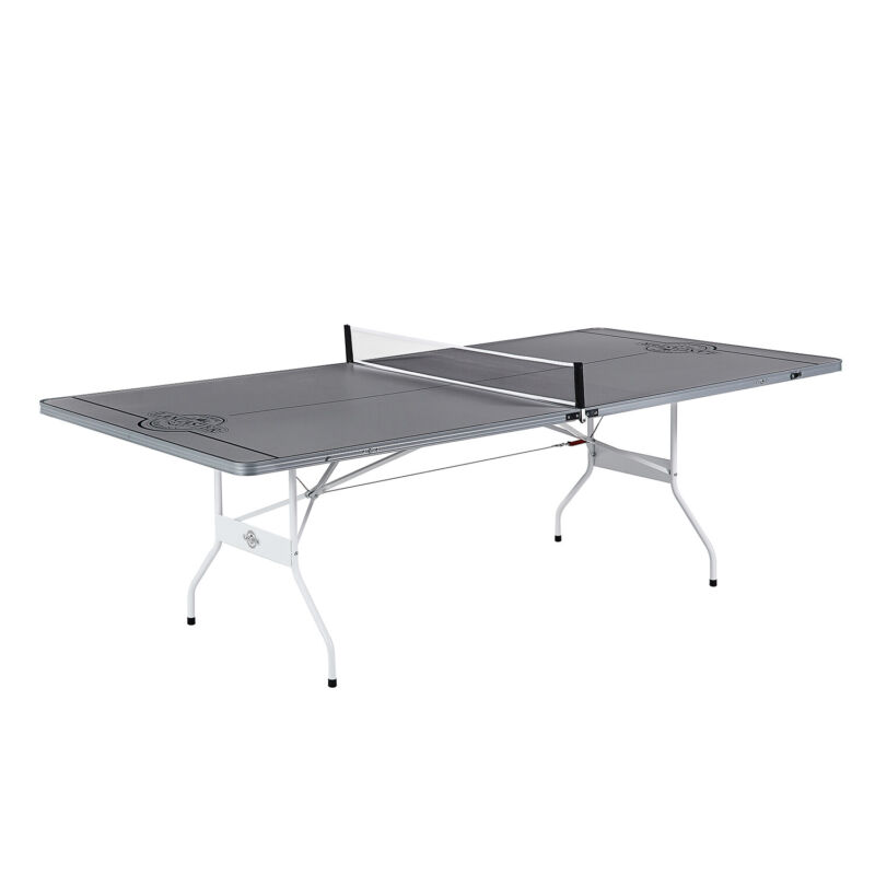 Lancaster Indoor Portable Aluminum Folding Table Tennis Ping Pong Game Table