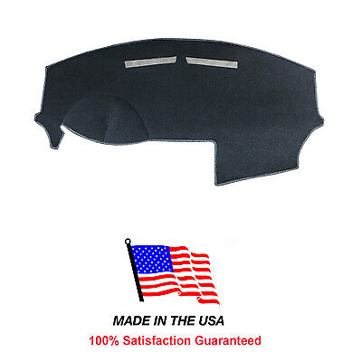 2011-2014 Chrysler 200 Charcoal Carpet Dash Cover Mat Pad CR65-3 Made in the (Charcoal Carpet Dash Cover)