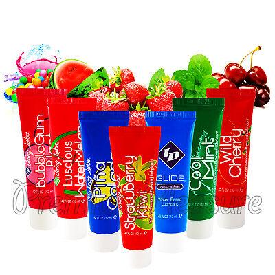 ID Juicy Lube Water based lubricant tube*Strawberry Pina Colada Cherry - Strawberry Pina Colada
