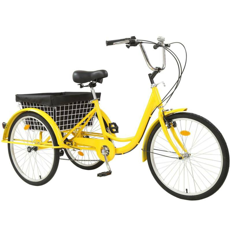 adult tricycle 7 speed size cruise bike
