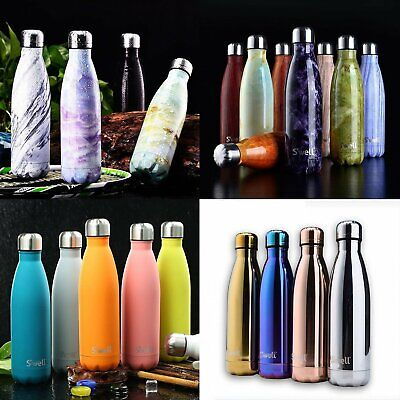 350/750/1000ML Water Bottle Vacuum Insulated Thermal Metal Sports Chilly Flask (Thermal Flask)