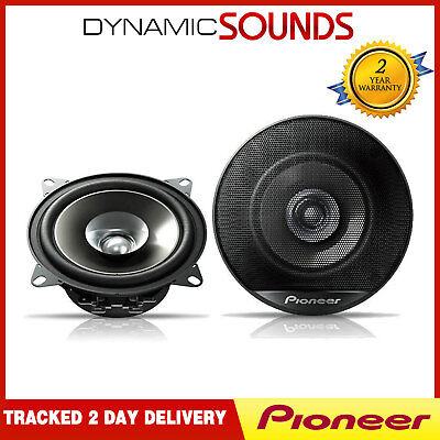 Pioneer 380W Total 4 INch 10cm Dualcone Car Door/Shelf Coaxial Speakers New Pair