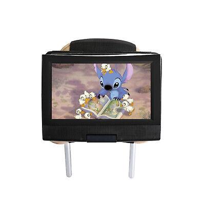 Car Headrest Mount Holder for 7 -11 inch Swivel & Flip Style Portable DVD Player