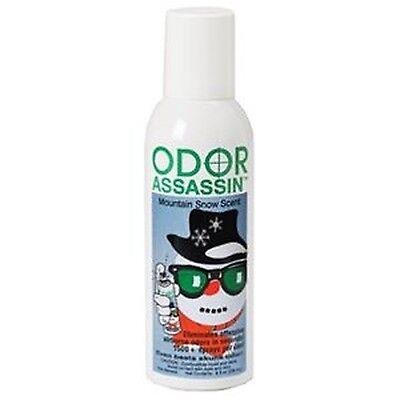 8OZ Odor Assassin   Odor Eliminator Mountain Snow Scent