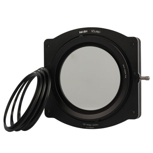 NiSi V5-PRO 100mm Filter Holder with Pro CPL, Adapter Rings & Soft Filter Pouch