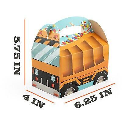 Tonka Truck Birthday (Construction Birthday Party Favor Boxes Gum Balls Tonka Truck Party)