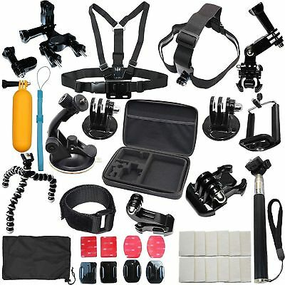 Купить LotFancy - Fr GoPro Hero 7 5 4 6 3 2 Session Accessories Camera Mount suction Cup Stick Kit
