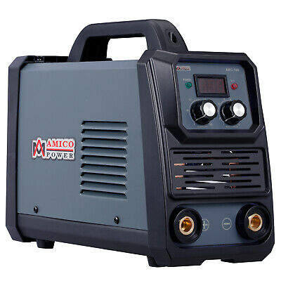 Amico 160 Amp Stick Arc Dc Welder 100250v Wide Voltage Welding 80 Duty Cycle
