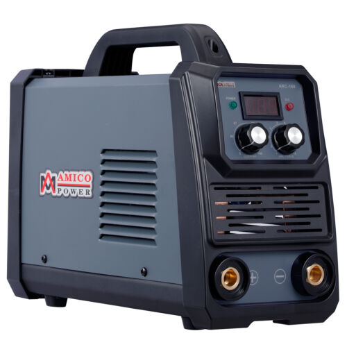 Amico 160 Amp Stick Arc DC Welder, 100~250V Wide Voltage Welding, 80% Duty Cycle