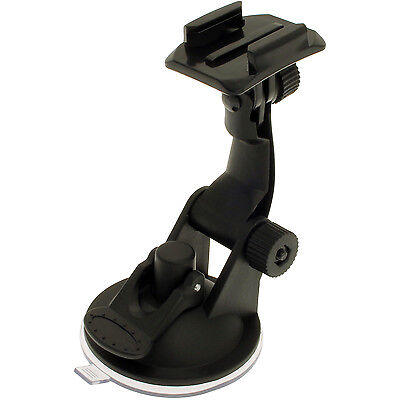 Suction Cup Window Windshield Car Mount for GoPro Hero5 Black Session 4 3+ 3 2 1