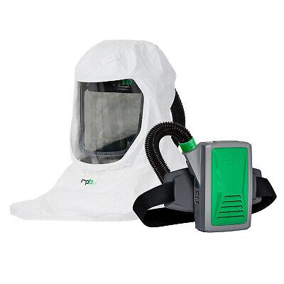Papr Powered Air Purifying Respirator Hood - Long-life Battery Hepa Filter