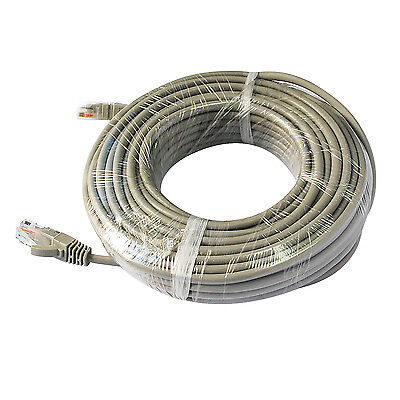 ANNKE 1x18m RJ45 CAT5 High Speed Ethernet Network Cable for POE Security System