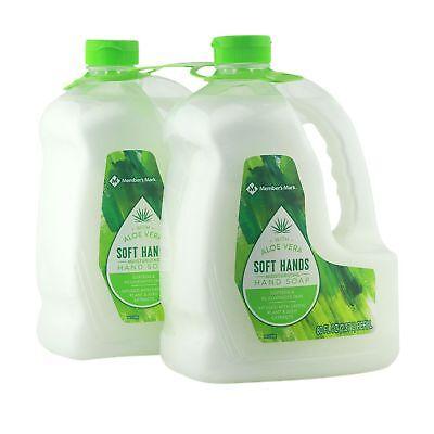 Hand Soap Refill Moisturizing Aloe Vera Mild Gentle Formula Seeds Extract 2-pack - Liquid Hand Soap Gentle Moisturizer