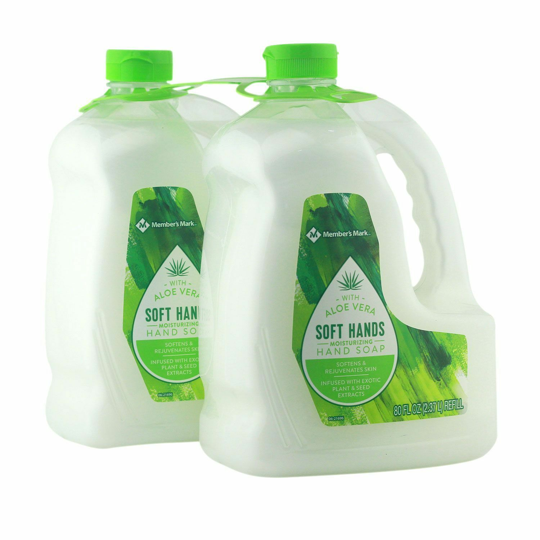 Hand Soap Refill Moisturizing Aloe Vera Mild Gentle Formula