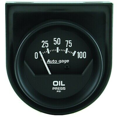 AutoMeter 2360 Autogage Mechanical Oil Pressure Gauge Autometer Autogage Mechanical Oil