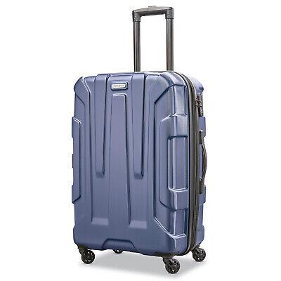 "Samsonite Centric Hardside 24"" Expandable Spinner Wheel Luggage, Navy Blue"
